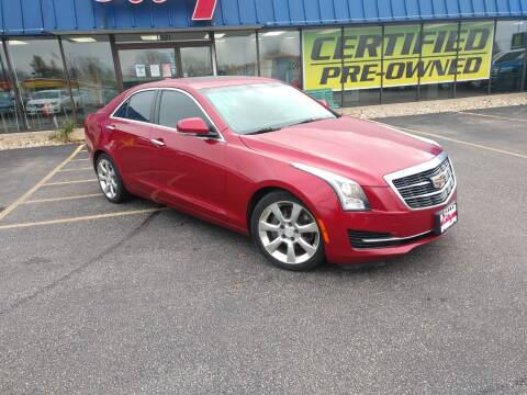 2015 Cadillac ATS for sale at CITY SELECT MOTORS in Galesburg IL