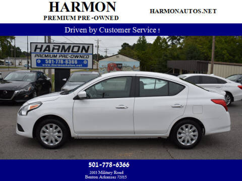 2019 Nissan Versa for sale at Harmon Premium Pre-Owned in Benton AR