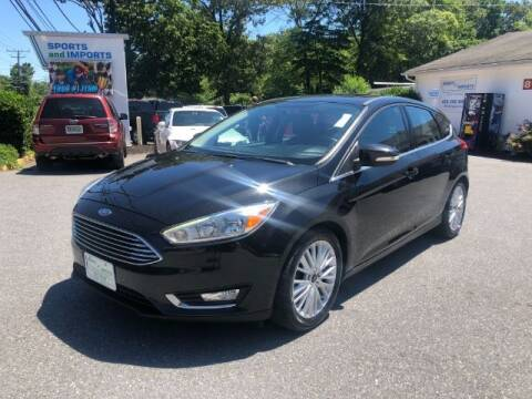 2015 Ford Focus for sale at Sports & Imports in Pasadena MD