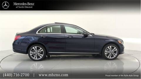 2021 Mercedes-Benz C-Class for sale at Mercedes-Benz of North Olmsted in North Olmsted OH
