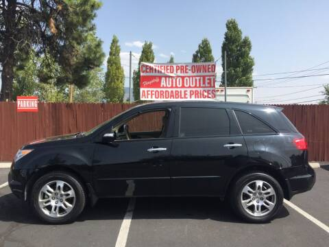 2008 Acura MDX for sale at Flagstaff Auto Outlet in Flagstaff AZ