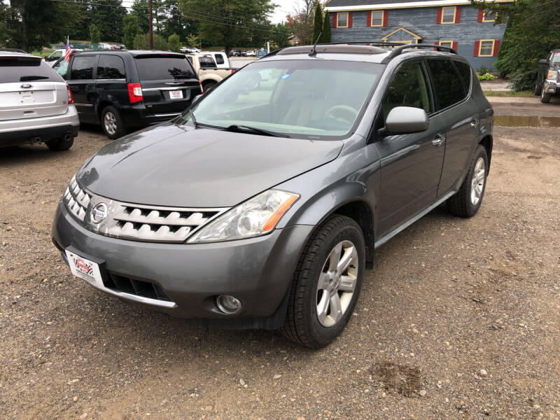 2007 Nissan Murano for sale at Winner's Circle Auto Sales in Tilton NH