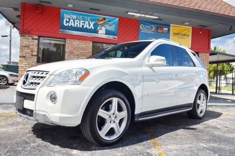 2011 Mercedes-Benz M-Class for sale at ALWAYSSOLD123 INC in North Miami Beach FL