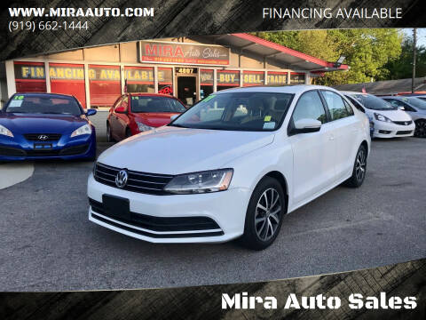 2017 Volkswagen Jetta for sale at Mira Auto Sales in Raleigh NC