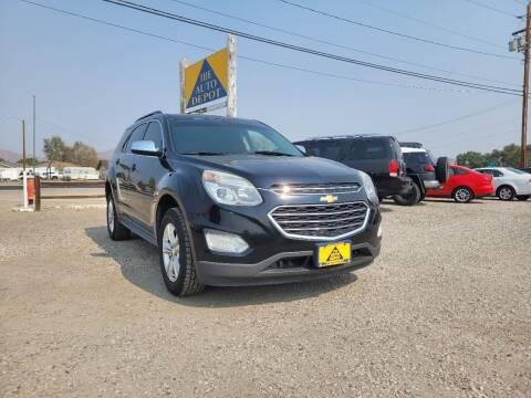 2016 Chevrolet Equinox for sale at Auto Depot in Carson City NV