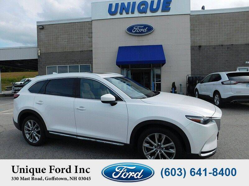 2017 Mazda CX-9 for sale at Unique Motors of Chicopee - Unique Ford in Goffstown NH
