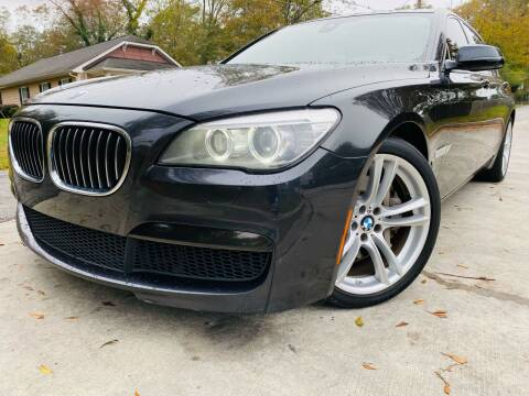 2013 BMW 7 Series for sale at E-Z Auto Finance in Marietta GA