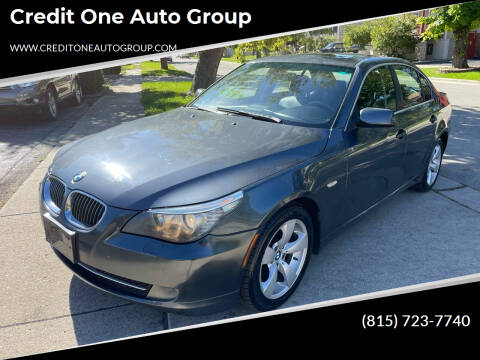 2008 BMW 5 Series for sale at Credit One Auto Group in Joliet IL