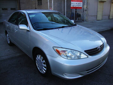 2002 Toyota Camry for sale at Discount Auto Sales in Passaic NJ