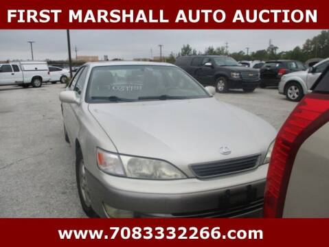 1998 Lexus ES 300 for sale at First Marshall Auto Auction in Harvey IL