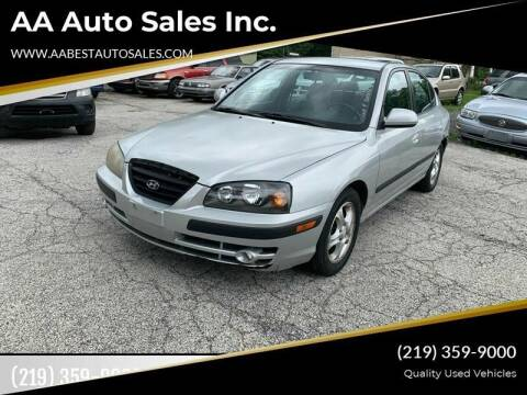 2004 Hyundai Elantra for sale at AA Auto Sales Inc. in Gary IN