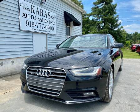 2013 Audi A4 for sale at Karas Auto Sales Inc. in Sanford NC