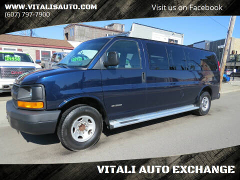 2005 Chevrolet Express Passenger for sale at VITALI AUTO EXCHANGE in Johnson City NY