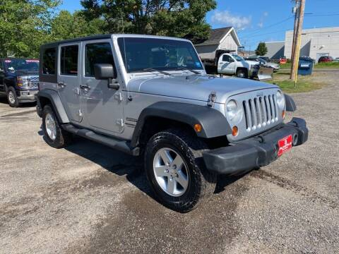 2010 Jeep Wrangler Unlimited for sale at AutoMile Motors in Saco ME
