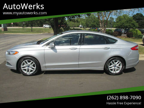 2015 Ford Fusion for sale at AutoWerks in Sturtevant WI