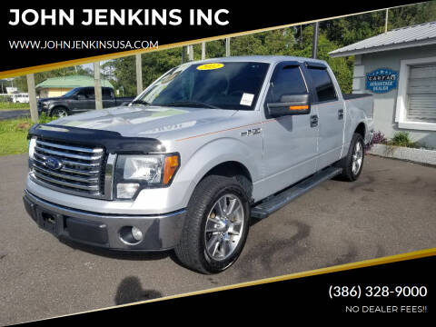 2012 Ford F-150 for sale at JOHN JENKINS INC in Palatka FL