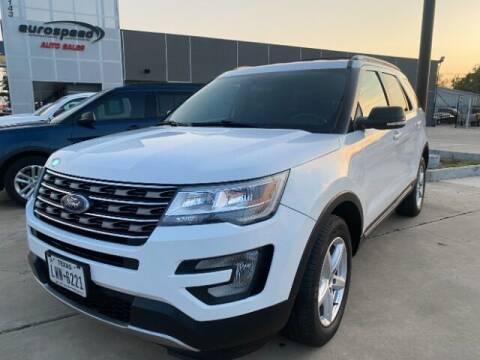2017 Ford Explorer for sale at Eurospeed International in San Antonio TX