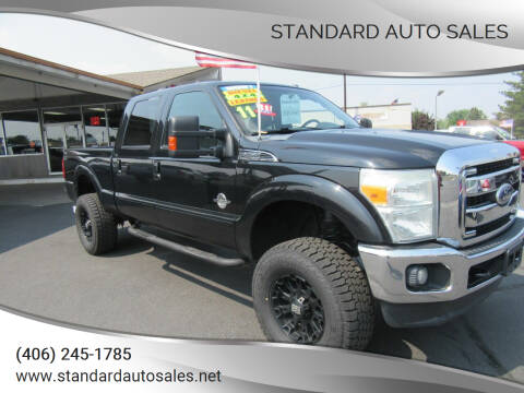 2011 Ford F-250 Super Duty for sale at Standard Auto Sales in Billings MT