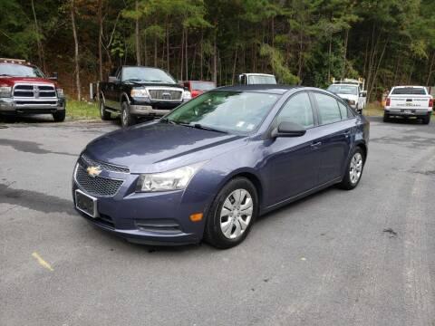 2013 Chevrolet Cruze for sale at Curtis Lewis Motor Co in Rockmart GA