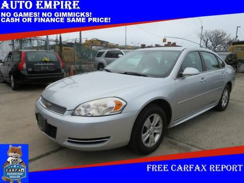 2014 Chevrolet Impala Limited for sale at Auto Empire in Brooklyn NY