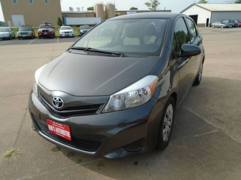 2012 Toyota Yaris for sale at BOBS AUTOMOTIVE INC in Fairfield IA