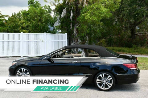 2014 Mercedes-Benz E-Class for sale at Car Girl 101 in Oakland Park FL