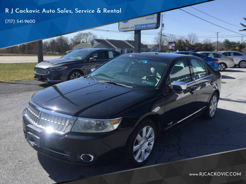2007 Lincoln MKZ for sale at R J Cackovic Auto Sales, Service & Rental in Harrisburg PA