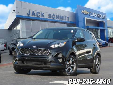 2021 Kia Sportage for sale at Jack Schmitt Chevrolet Wood River in Wood River IL