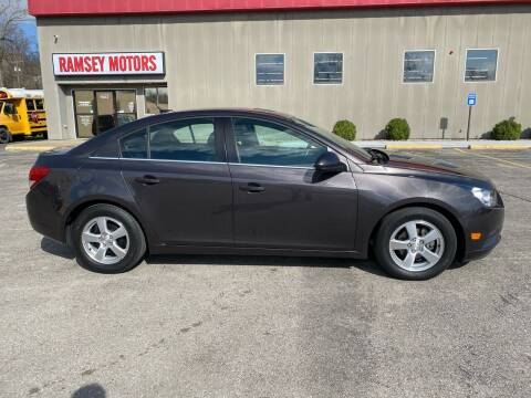 2014 Chevrolet Cruze for sale at Ramsey Motors in Riverside MO