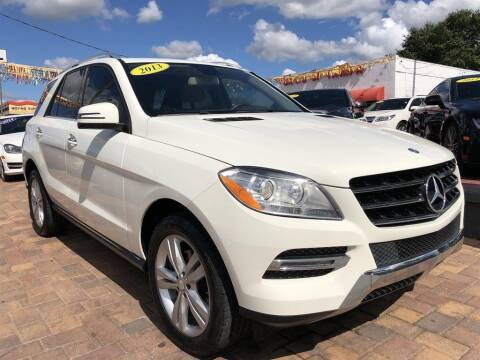 2013 Mercedes-Benz M-Class for sale at Cars of Tampa in Tampa FL