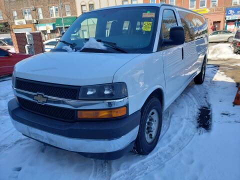 2017 Chevrolet Express Passenger for sale at A & R Auto Sales in Brooklyn NY