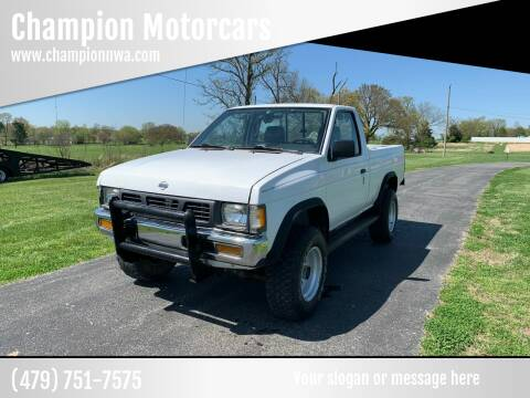 1997 Nissan Truck for sale at Champion Motorcars in Springdale AR