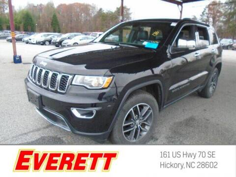 2018 Jeep Grand Cherokee for sale at Everett Chevrolet Buick GMC in Hickory NC