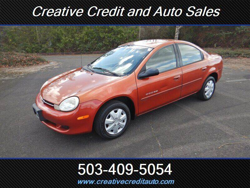 2000 Dodge Neon for sale at Creative Credit & Auto Sales in Salem OR