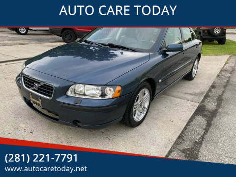 2006 Volvo S60 for sale at AUTO CARE TODAY in Spring TX