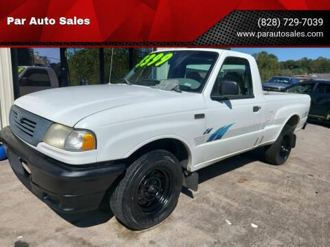 2000 Mazda B-Series Pickup for sale at Par Auto Sales in Lenoir NC