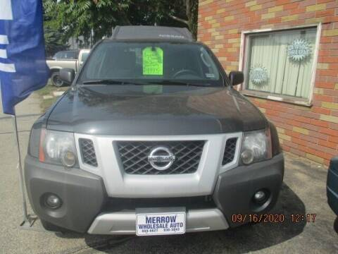 2012 Nissan Xterra for sale at MERROW WHOLESALE AUTO in Manchester NH
