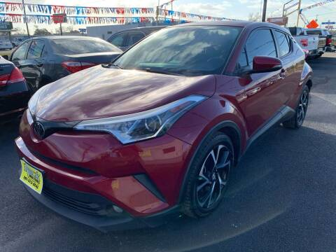 2018 Toyota C-HR for sale at Rock Motors LLC in Victoria TX