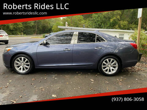 2015 Chevrolet Malibu for sale at Roberts Rides LLC in Franklin OH