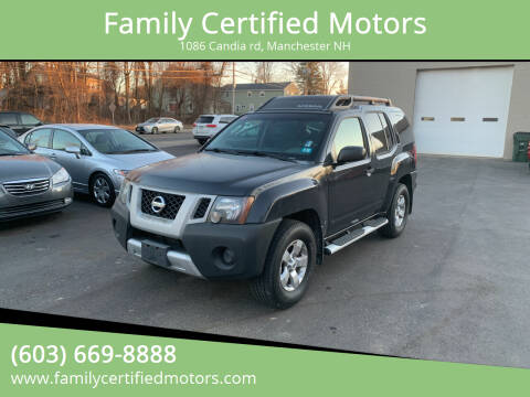 2009 Nissan Xterra for sale at Family Certified Motors in Manchester NH