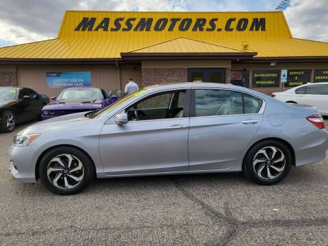 2016 Honda Accord for sale at M.A.S.S. Motors - MASS MOTORS in Boise ID