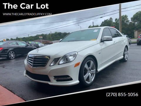 2012 Mercedes-Benz E-Class for sale at The Car Lot in Radcliff KY