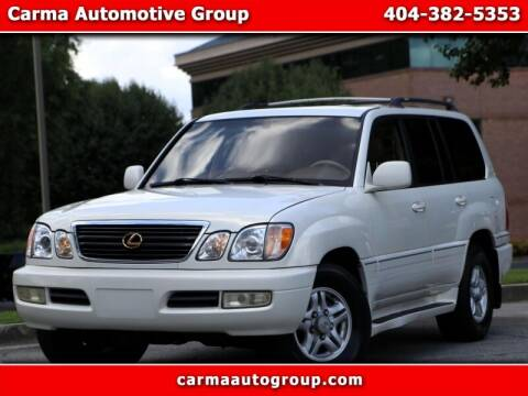 1999 Lexus LX 470 for sale at Carma Auto Group in Duluth GA