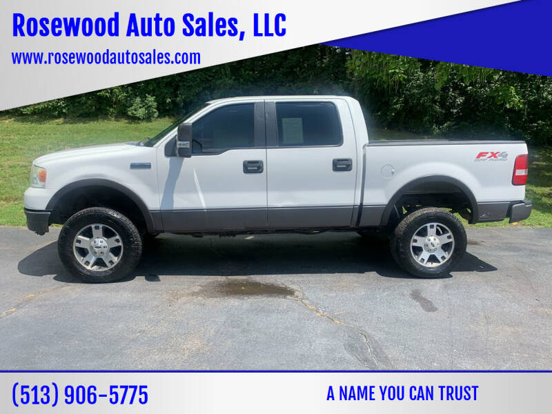 2005 Ford F-150 for sale at Rosewood Auto Sales, LLC in Hamilton OH