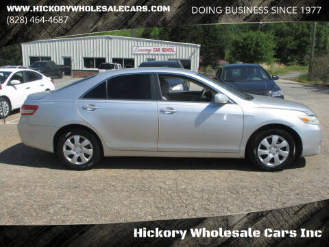 2010 Toyota Camry for sale at Hickory Wholesale Cars Inc in Newton NC