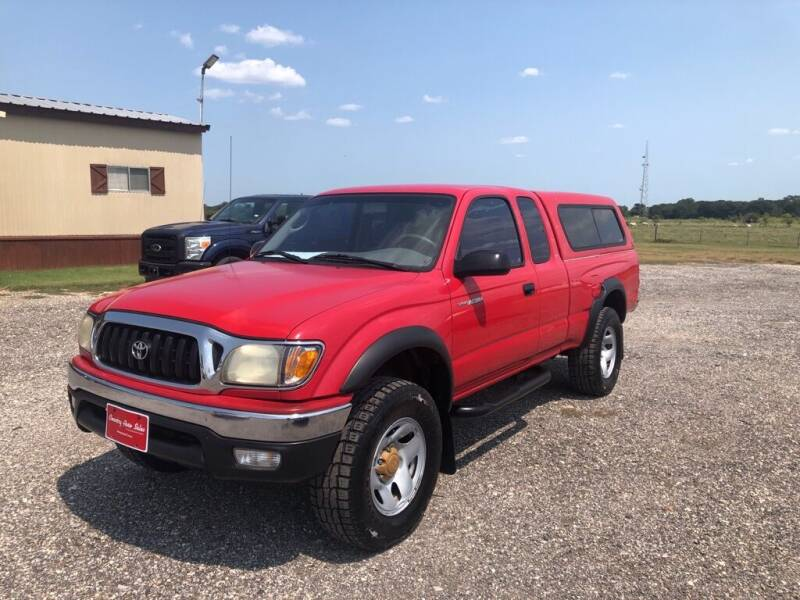 2001 Toyota Tacoma for sale at COUNTRY AUTO SALES in Hempstead TX