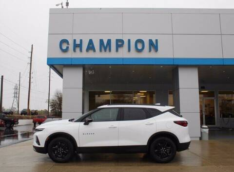 2021 Chevrolet Blazer for sale at Champion Chevrolet in Athens AL