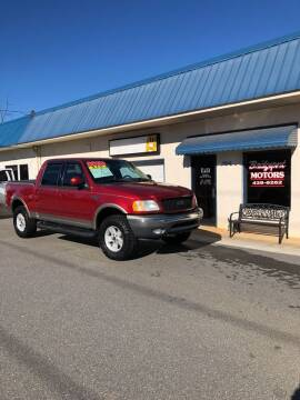 2002 Ford F-150 for sale at BRIDGEPORT MOTORS in Morganton NC