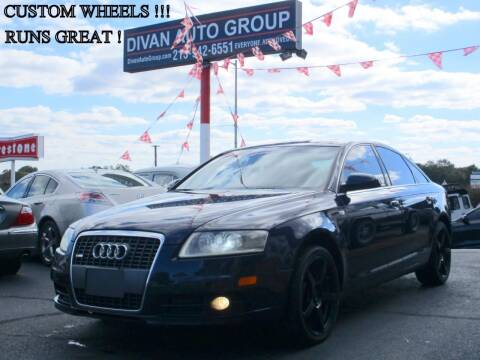 2008 Audi A6 for sale at Divan Auto Group in Feasterville PA