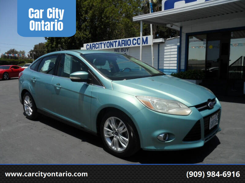 2012 Ford Focus for sale at Car City Ontario in Ontario CA